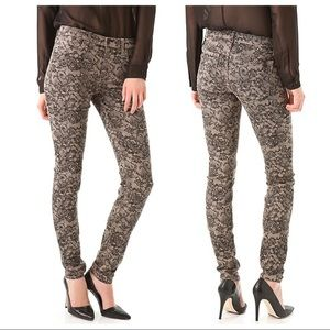 Joe's The Skinny Chantilly Lace Floral Print Jeans